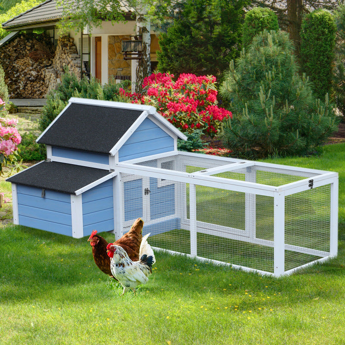 Chicken Coop Hen House Cage Run For 1-3 Birds
