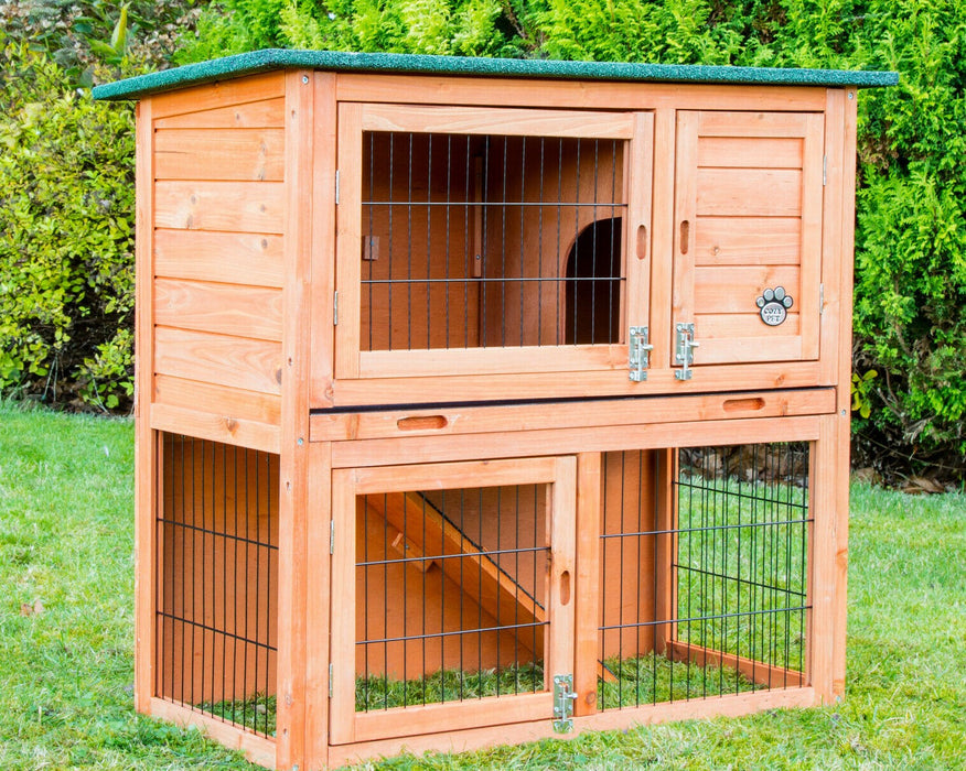 Rabbit Hutch 3ft Guinea Pig Hutch Run Ferret Run