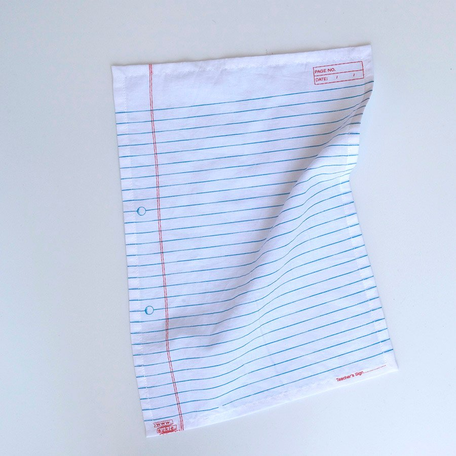 A4 LINED HANDKERCHIEF