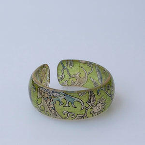 FLOWER AND SEED BANGLE