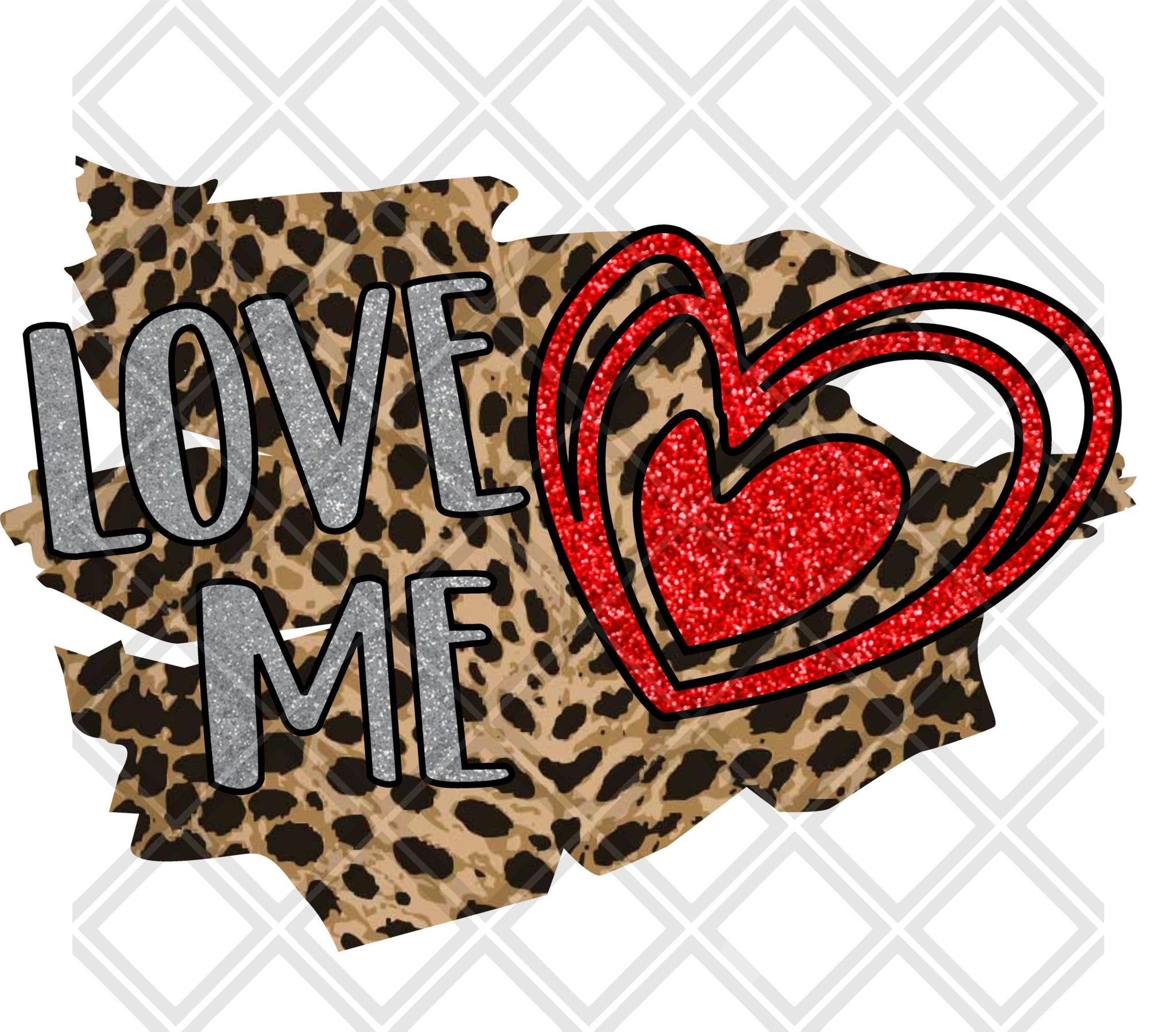 Download Love Me Valentines Day HTV TRANSFER, Sublimation Transfer ...