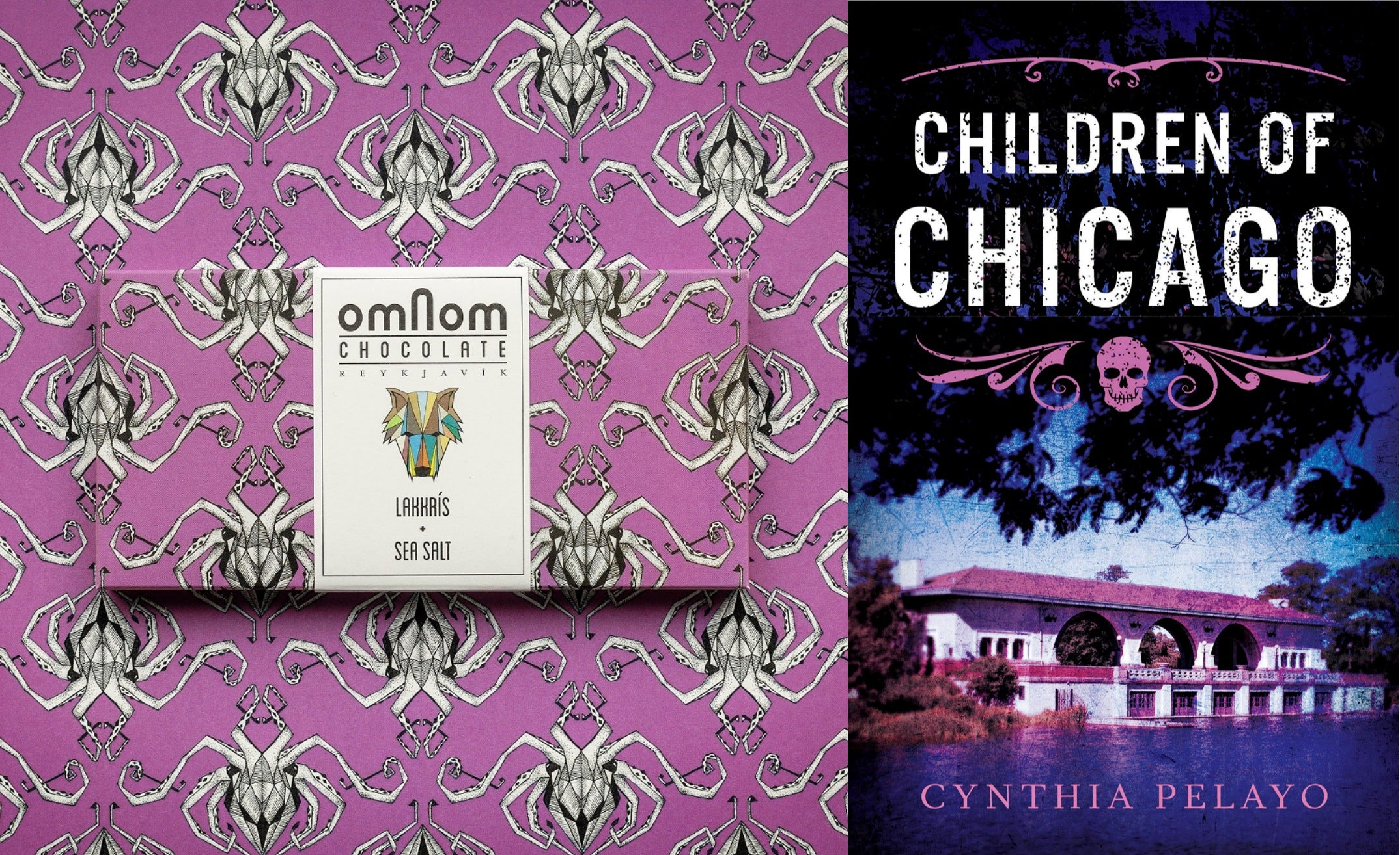 Pairing books and chocolate for Halloween