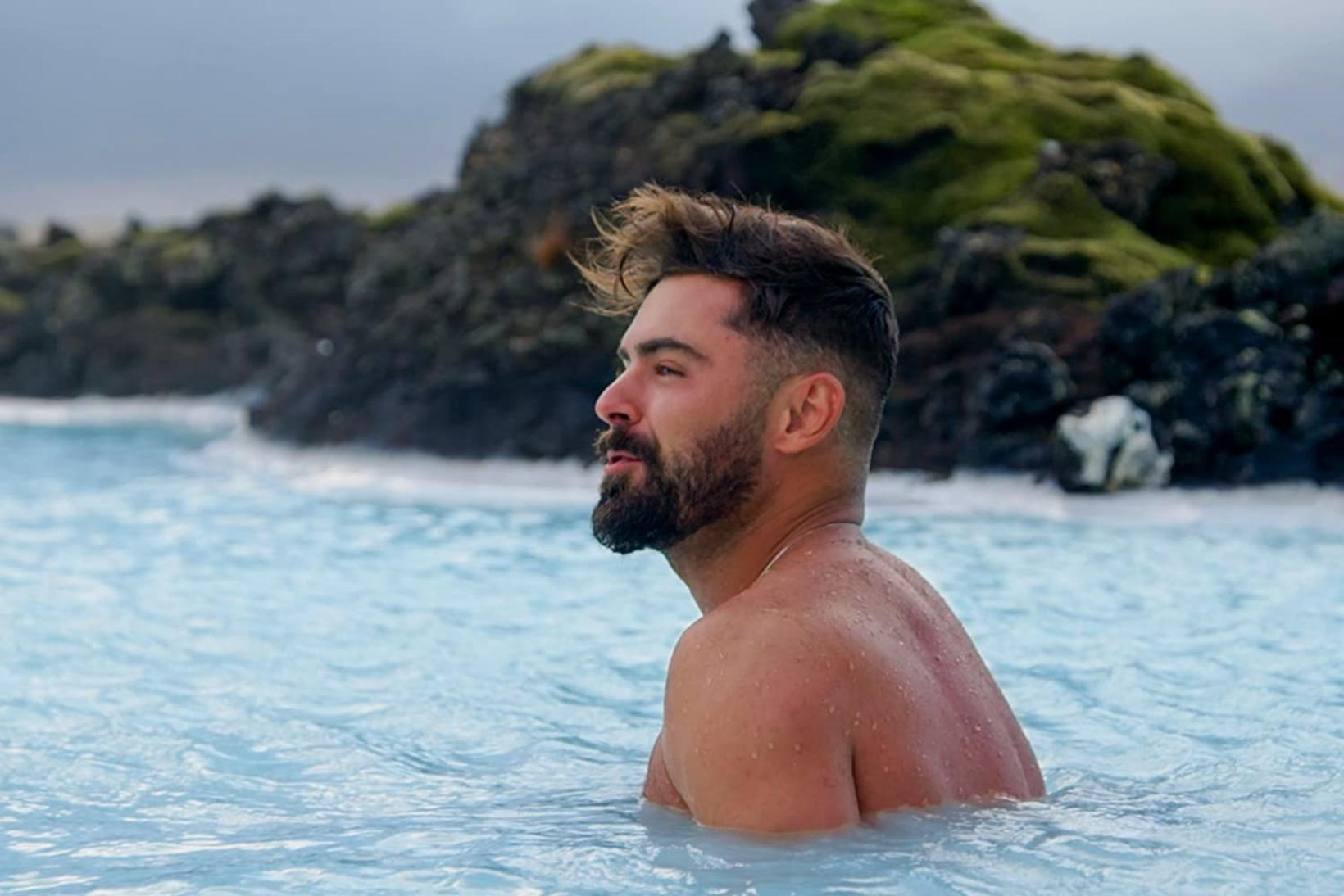 Down to earth with Zac Efron in Iceland