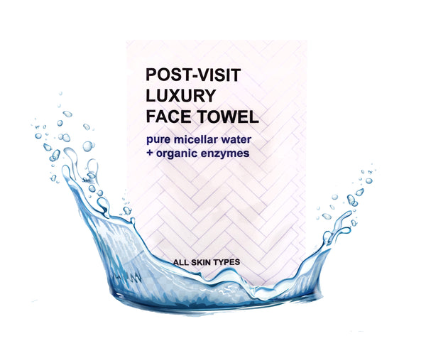 100- Pack- Hydrating Luxury Face Towel