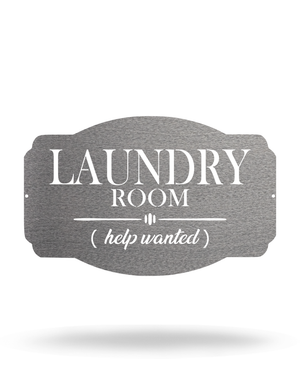 "Laundry Room - ""Help Wanted"""