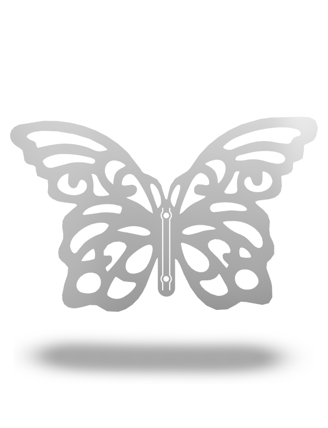 Steel Roots Decor 3D Butterfly