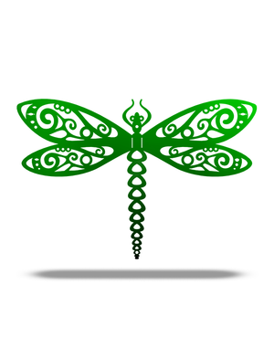 Steel Roots Decor 3D Dragonfly