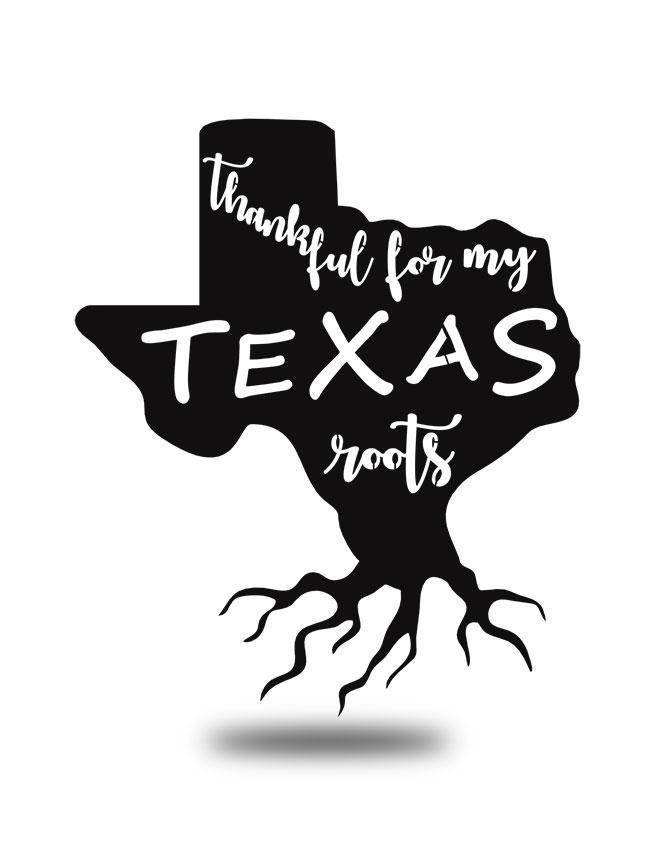 "Steel Roots Decor Black ""Texas Roots"" Wall Art"