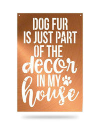Steel Roots Decor Copper Dog Fur Decor