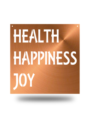 Steel Roots Decor Copper Health happiness joy