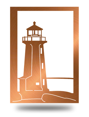 Steel Roots Decor Copper Lighthouse