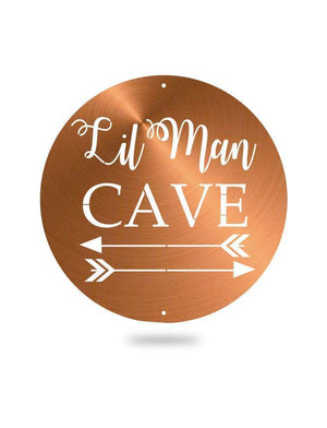 Steel Roots Decor Copper Lil Man Cave