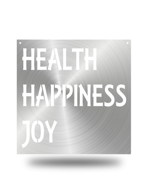 Steel Roots Decor Polished Health happiness joy