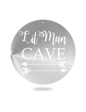 Steel Roots Decor Polished Lil Man Cave