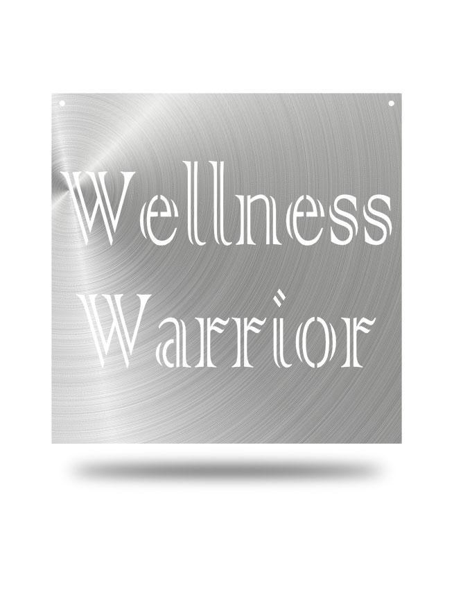 Steel Roots Decor Polished Wellness Warrior