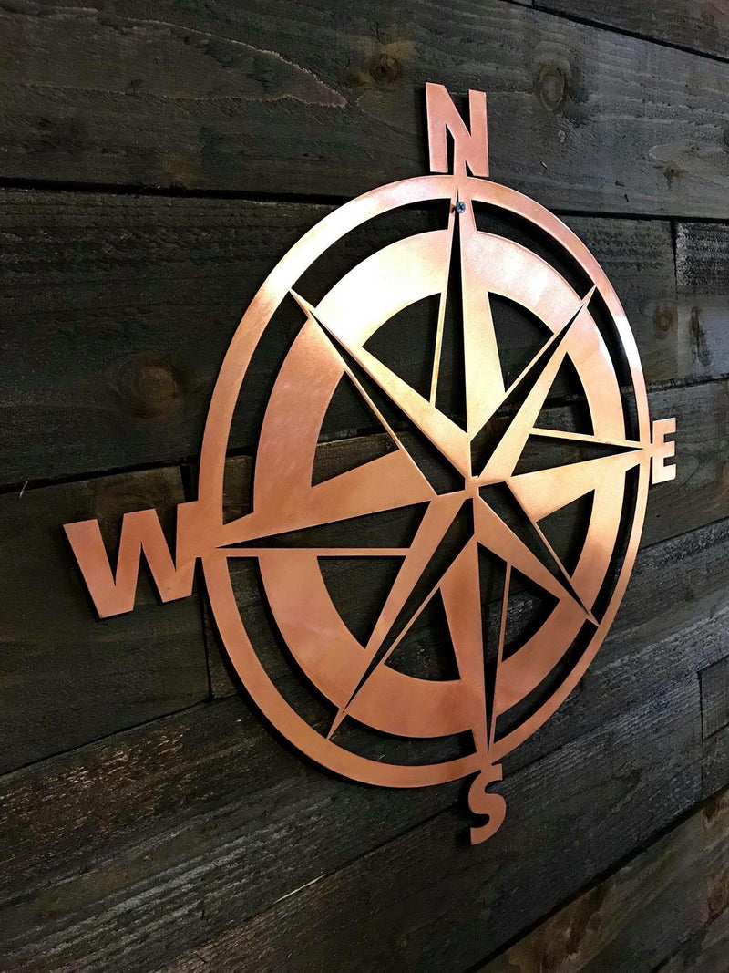 SteelRootsShop Copper Nautical Compass