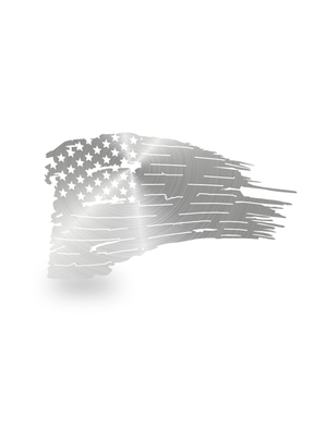 SteelRootsShop Polished Distressed American Flag