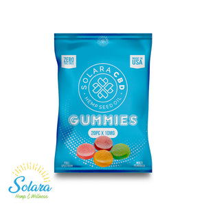 Solara CBD Full Spectrum Gummies 10mg 20ct