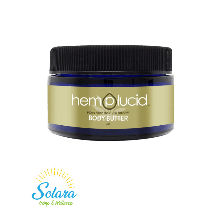 Hemplucid Body Butter 60mL / 500mg