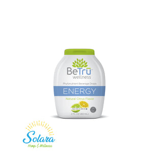 Be Trū Wellness Beverage Drops ENERGY Natural Citrus 2 fl oz