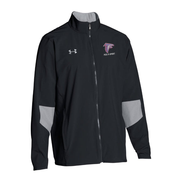 Men's UA Squad Woven Warm-up Jacket