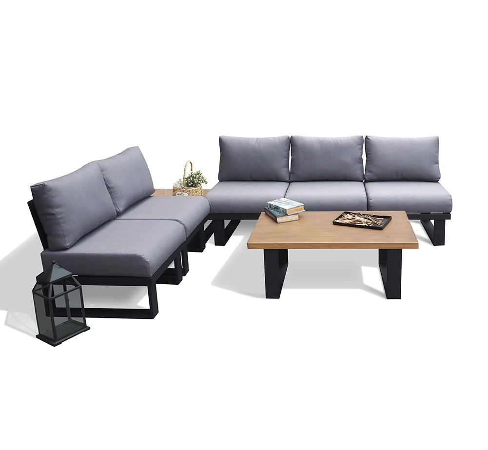 Outdoor Sectional Sofa Set / Patio Conversation Sofa Set / Garden Furniture Sofa set