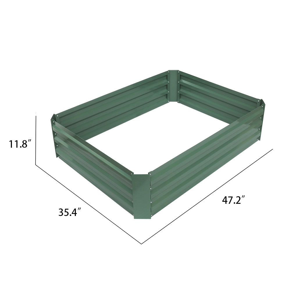 Garden Raised Bed / Powder-Coated Raised Planter / Vegatable Flower Grows Pot