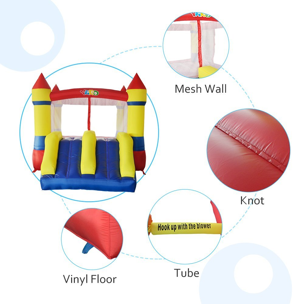 Inflatable Bounce / Outdoor Inflatable Jumper Moonwalk Bounce Castle / Outdoor Garden Play Center