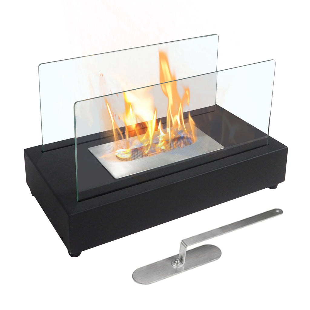 Tabletop Bio Ethanol Fireplace / Portable Fire Bowl Pot Fireplace / Indoor Outdoor Firepit