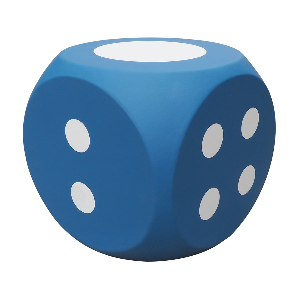 Dice Cube Pouf Ottoman / Footrest / Outdoor PU Leather Stool / Dice Sofa
