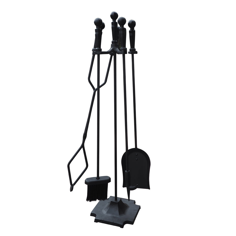 Wrought Iron Fireplace Tool Set / Fireplace Tool Set / Fire pit Tool Kit Sets