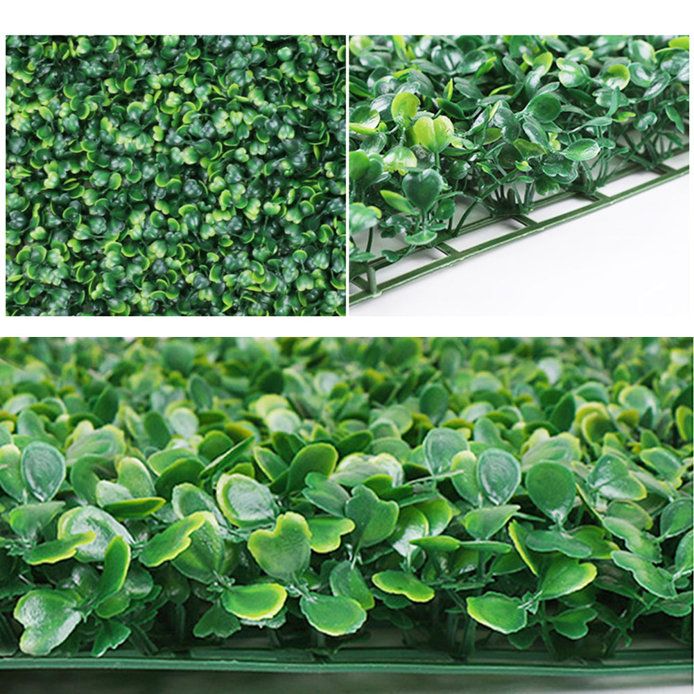 Boxwood Panels / Boxwood Hedge / Artificial Boxwood Panels / Green Garden Wall Mat