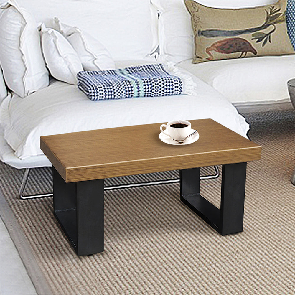 End Table / Rustic Aluminum Side Table / Outdoor Sofa Side Coffee Table