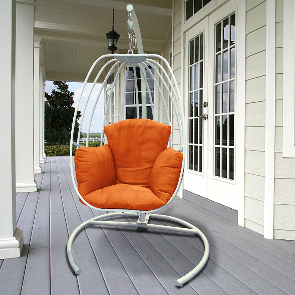 Egg Shaped Hanging Swing Chair / Outdoor Patio Porch Swing / Hammock Swing Chair