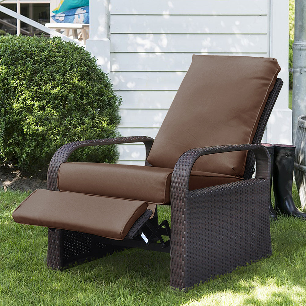 Outdoor Wicker Recliner / Recliner Chair/ Rattan Recliner / Single Chair