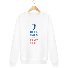 Charger l'image dans la galerie, LET'S GOLF IT - Sweat Col Rond KEEP CALM and PLAY GOLF - idées cadeaux golf homme femme