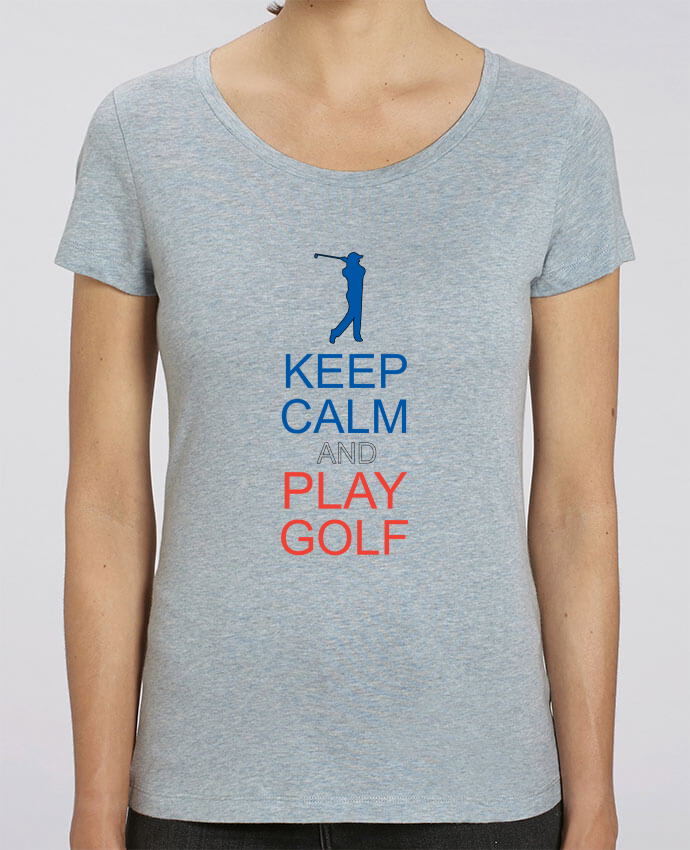 T-shirt en coton bio KEEP CALM AND PLAY GOLF