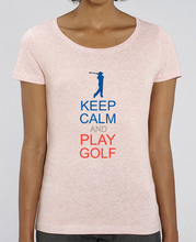 Charger l'image dans la galerie, T-shirt en coton bio KEEP CALM AND PLAY GOLF