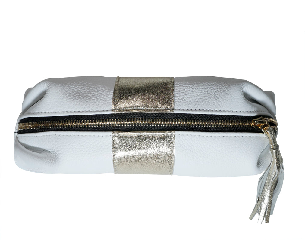 """The Goldie"" Cosmetic Pouch - PaulyJen"