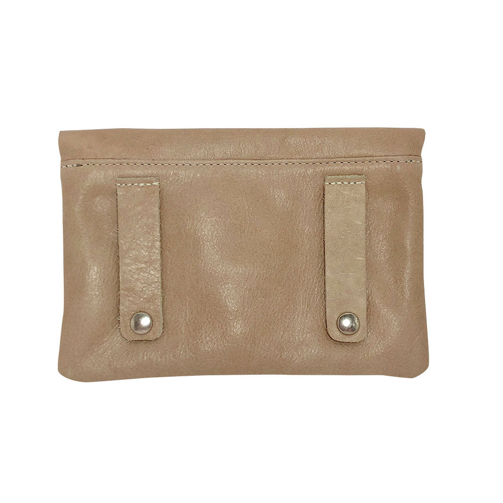 Nude Leather Belt Bag - PaulyJen