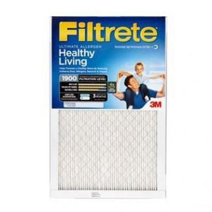 Filtrete Ultimate Allergen Reduction 1900 MERV 13 Filter