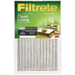 Filtrete Dust Reduction 600 MERV 7 Filter
