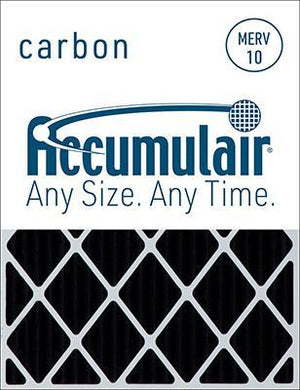 Accumulair Carbon Odor Block Filter - 25x25x4 (24.5 x 24.5 x 3.75)
