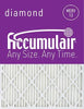 Accumulair Diamond MERV 13 Filter (1 Inch)-10x10x1 (9.5 x 9.5)