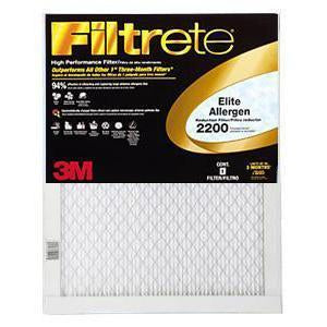 Filtrete Elite Allergen Reduction 2200 MERV 13 Filter
