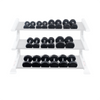 Image of Body Solid - Rubber Round Dumbell 5-50lb pairs - ENVIOUS BODY