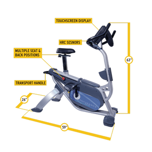 Body Solid - ENDURANCE UPRIGHT BIKE - ENVIOUS BODY