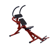 Body Solid - BEST FITNESS SEMI-RECUMBENT AB BENCH - ENVIOUS BODY