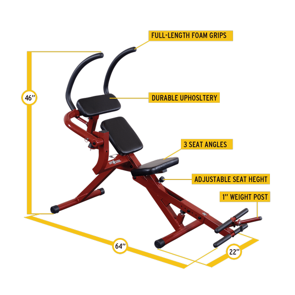 Body Solid - Ab Mantis Bench - ENVIOUS BODY