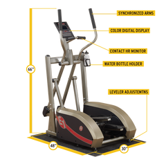 Body Solid - BEST FITNESS ELLIPTICAL